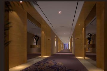 走廊电梯厅