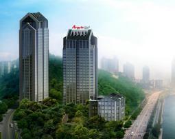 重庆雅阁国际大酒店树立南滨路新地标