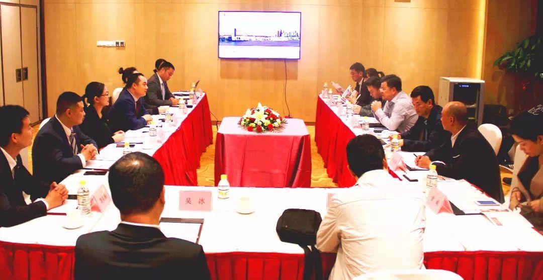 四川省多地政府考察团到访雅阁酒店集团考察交流