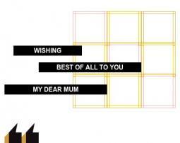 To my smartest mum | 我想带你去旅游
